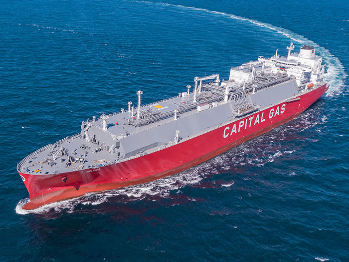 LNG carrier will be fitted with shaft generators