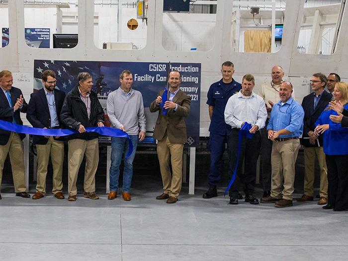 C5ISR facility opening ceremony