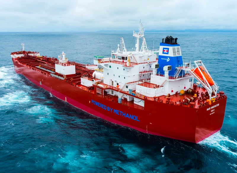 Marinvest methanol-dual fueled tanker